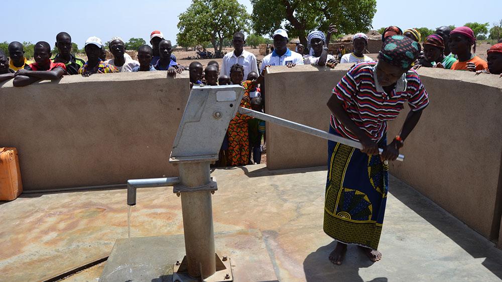 Fonds SUEZ initiatives-ACF au Burkina Faso