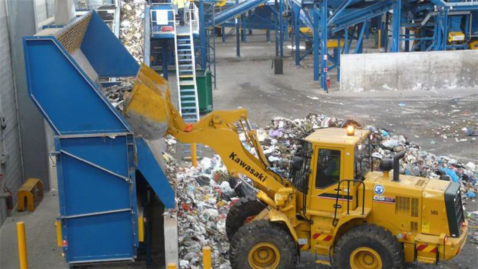Penrith Liverpool mechanical and biological waste treatment facility