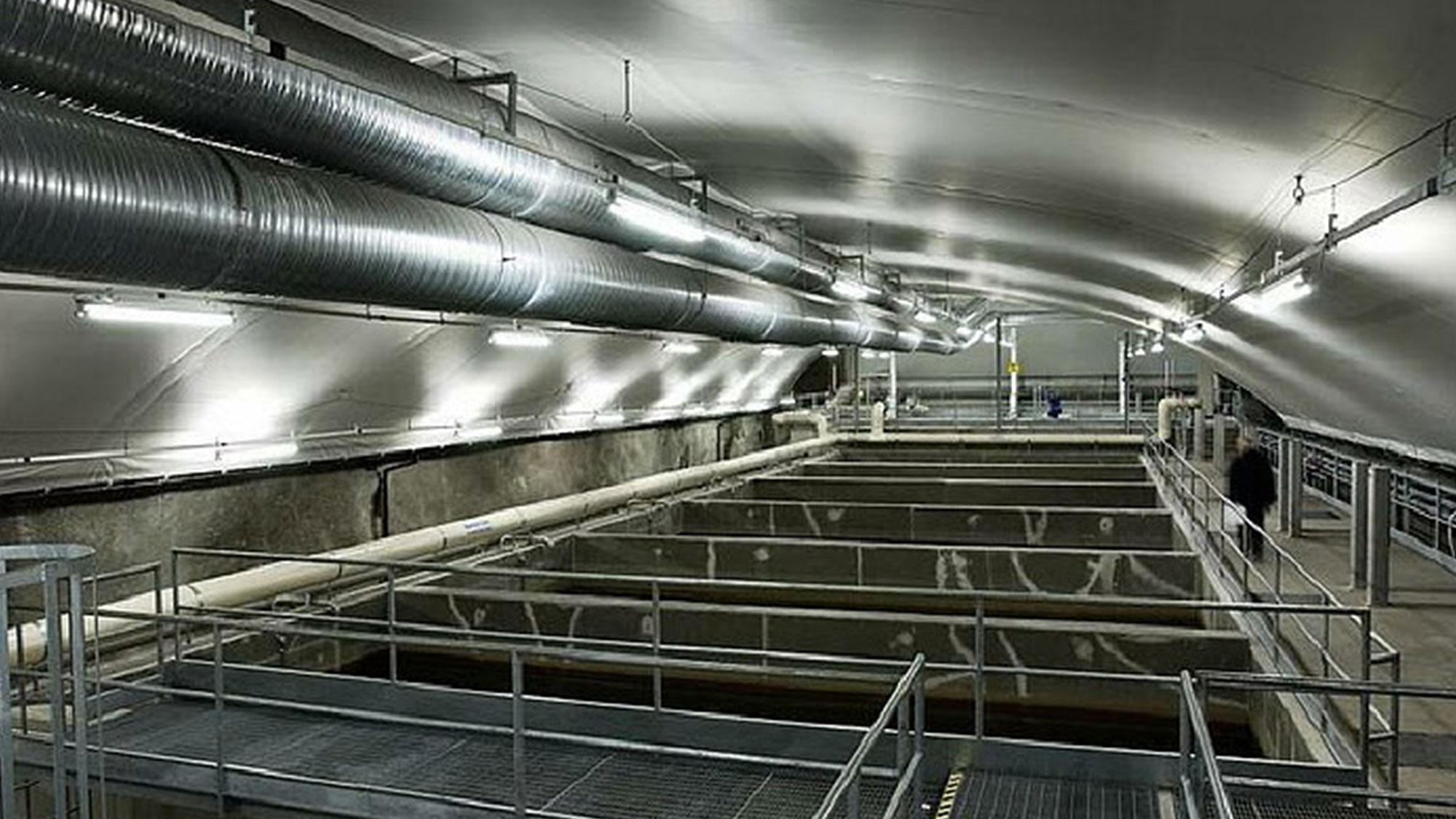 Usine d'eau potable de Arezzo
