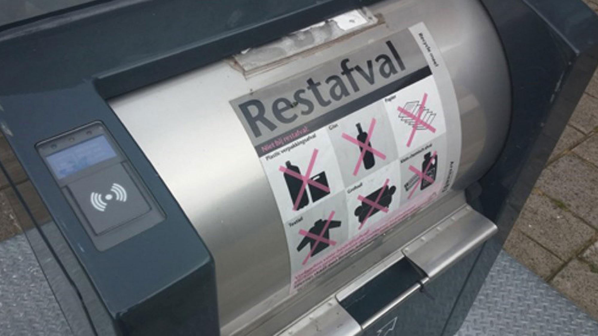 Arnhem collecte inversée des déchets
