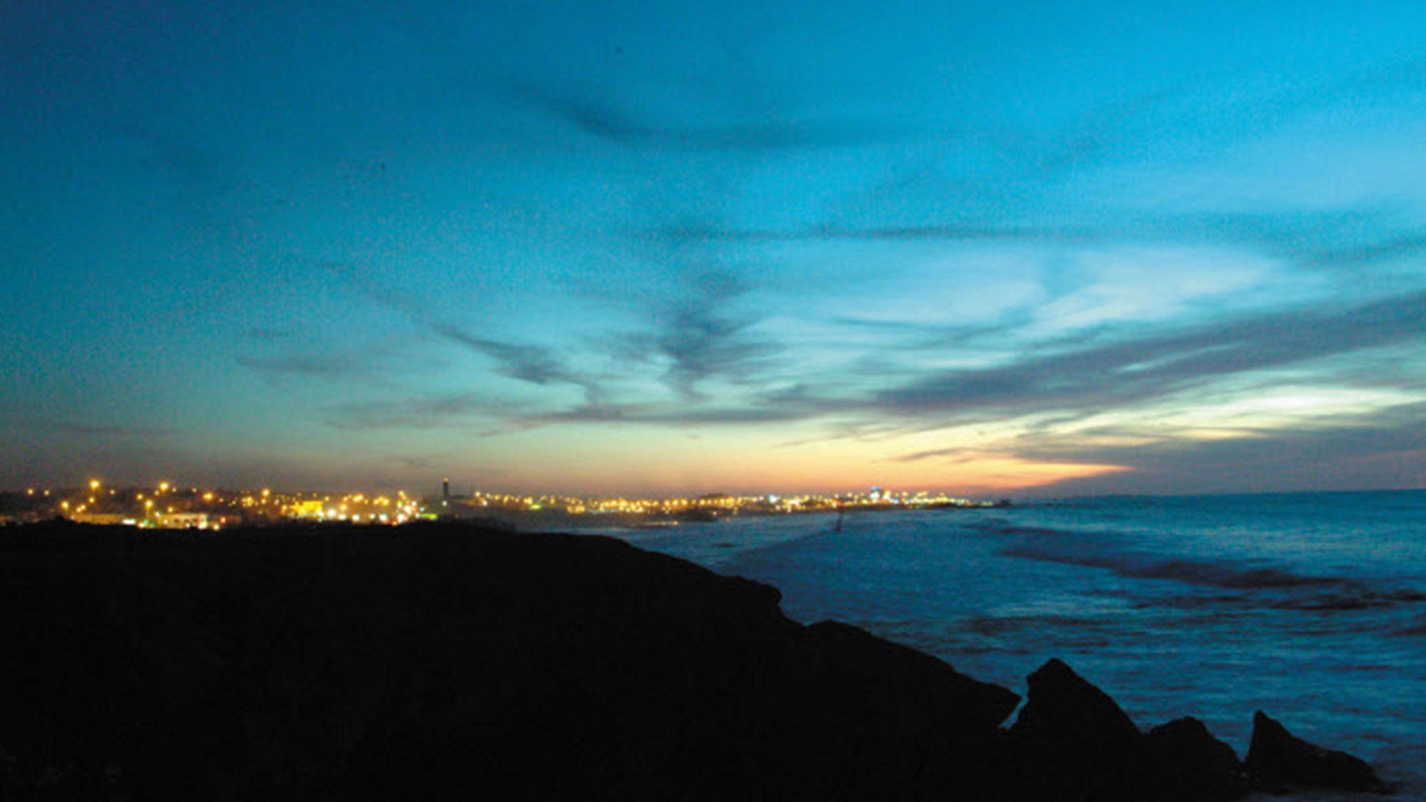 Casablanca vue de la corniche