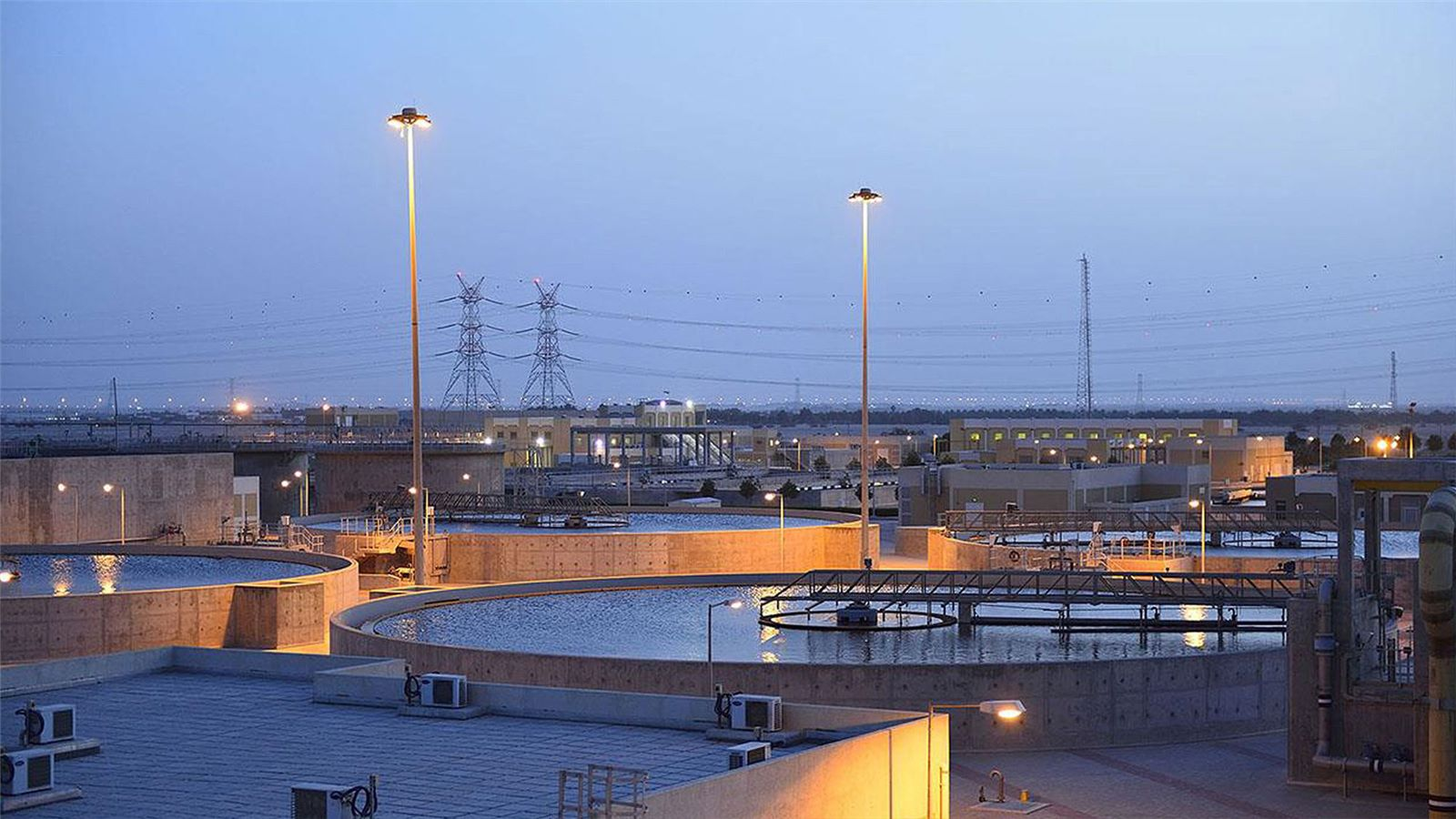Doha west wastewater recycling