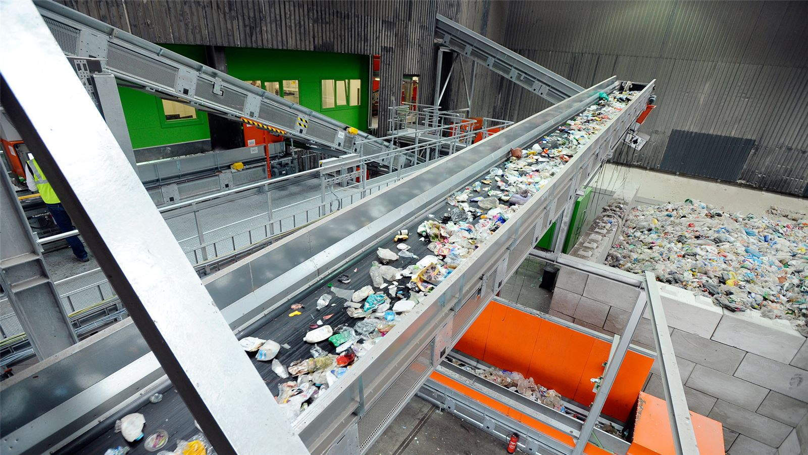 Rotterdam waste sorting plant