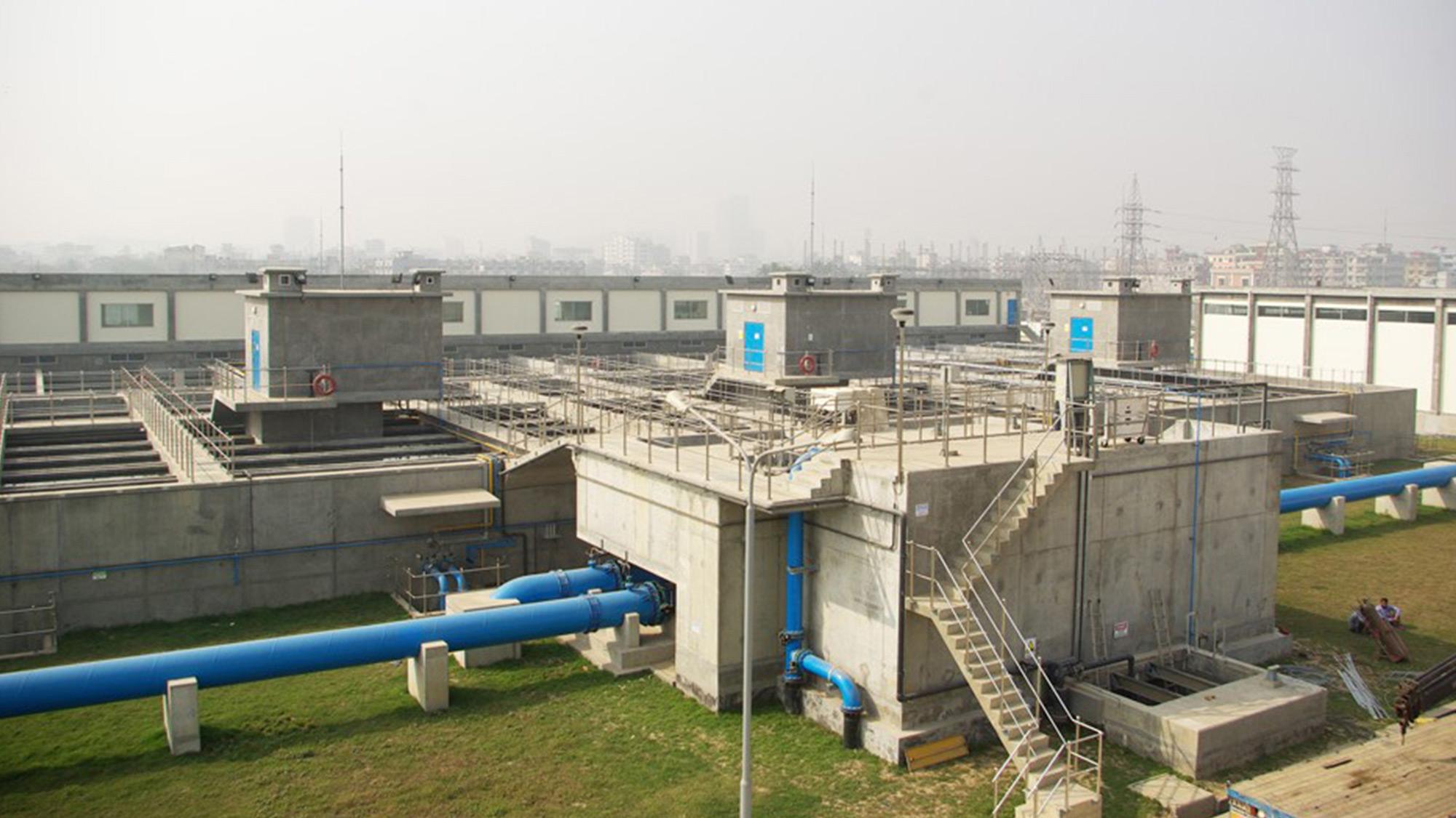 usine eau potable de Saidabad