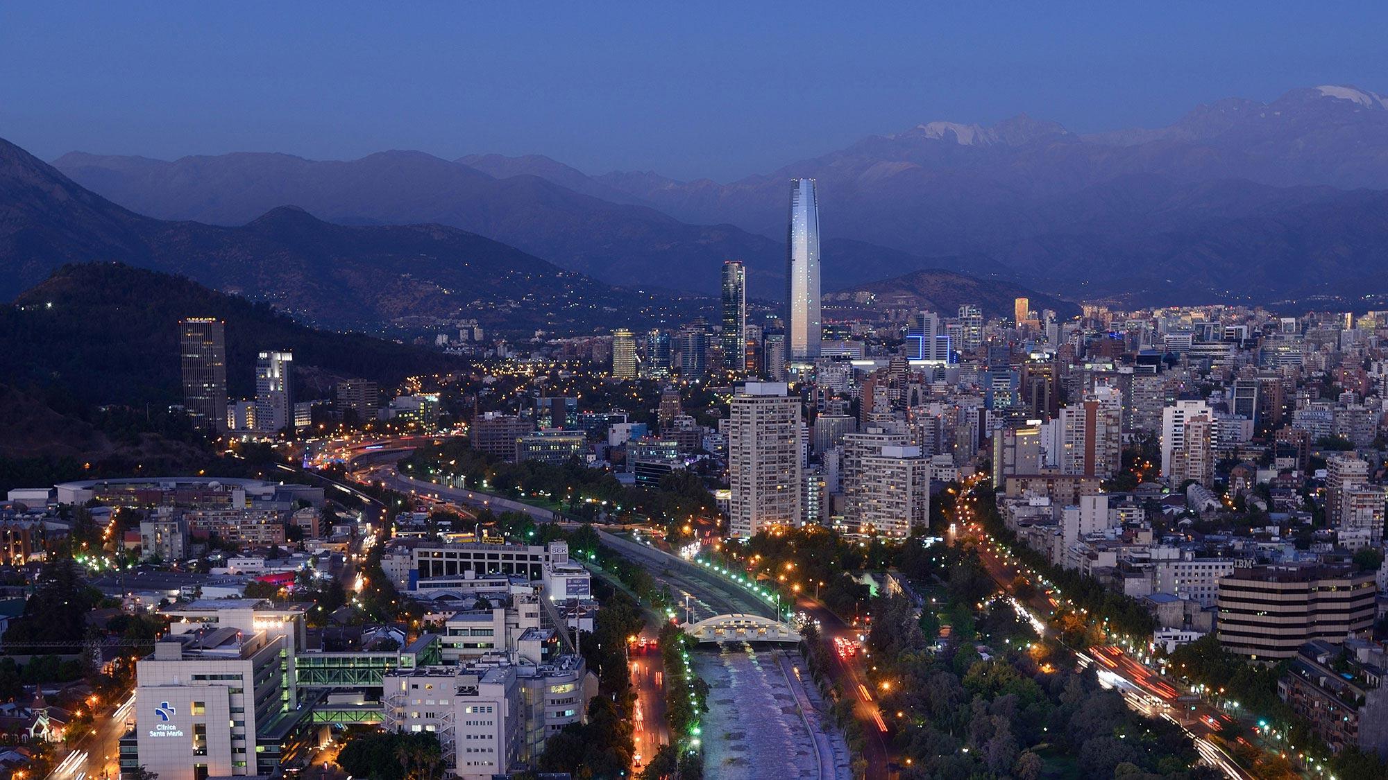 gestion de l'eau à Santiagao du Chili