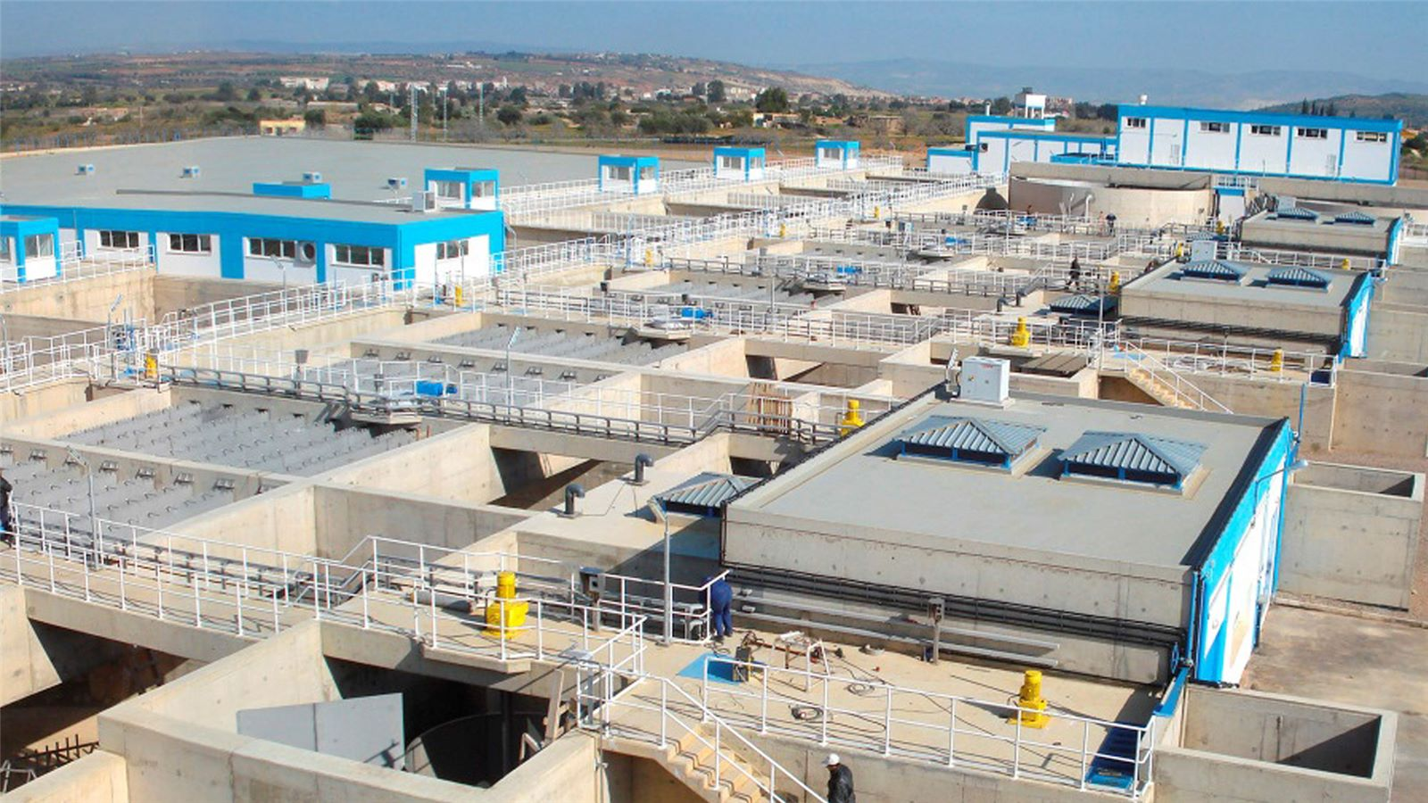 Usine d'eau potable de Sidi Lahdjel
