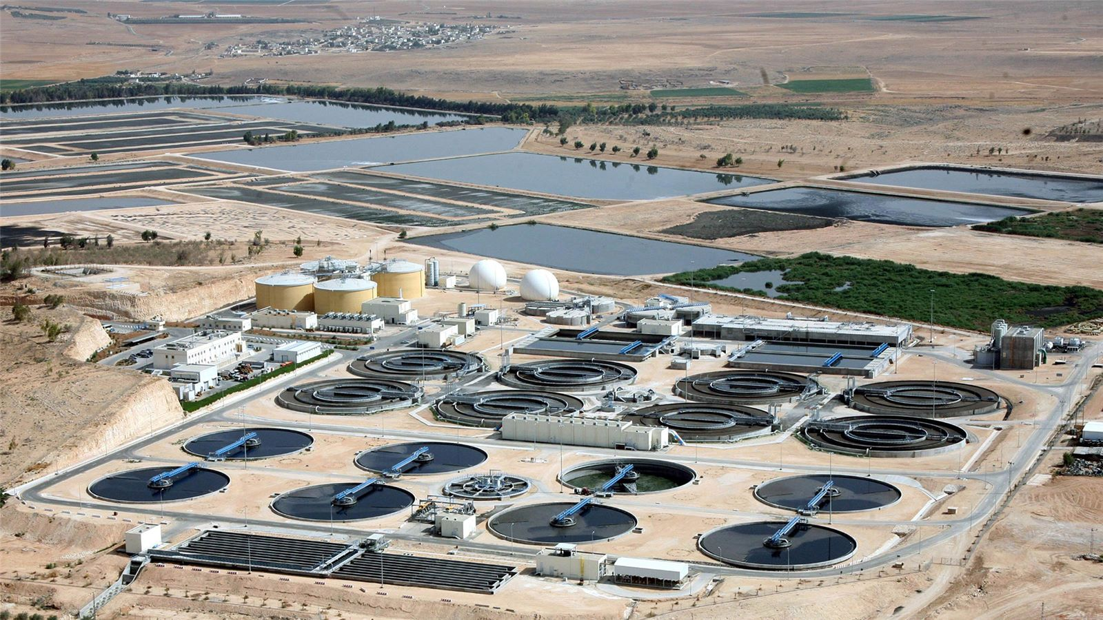 As Samra wastewater and biosolids treatment and reuse