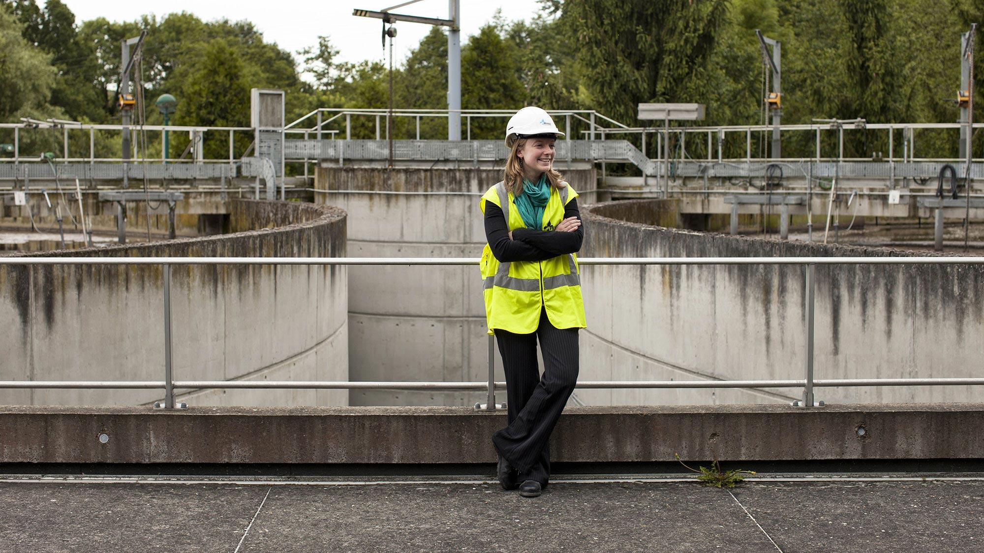 SUEZ-wastewater treatment plant