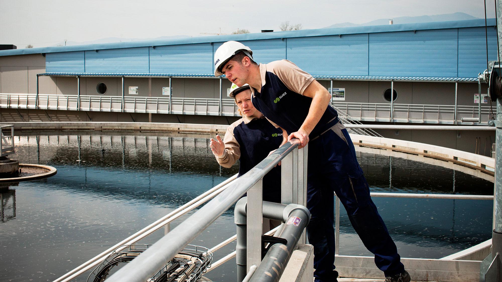 Usine de traitement des eaux usées