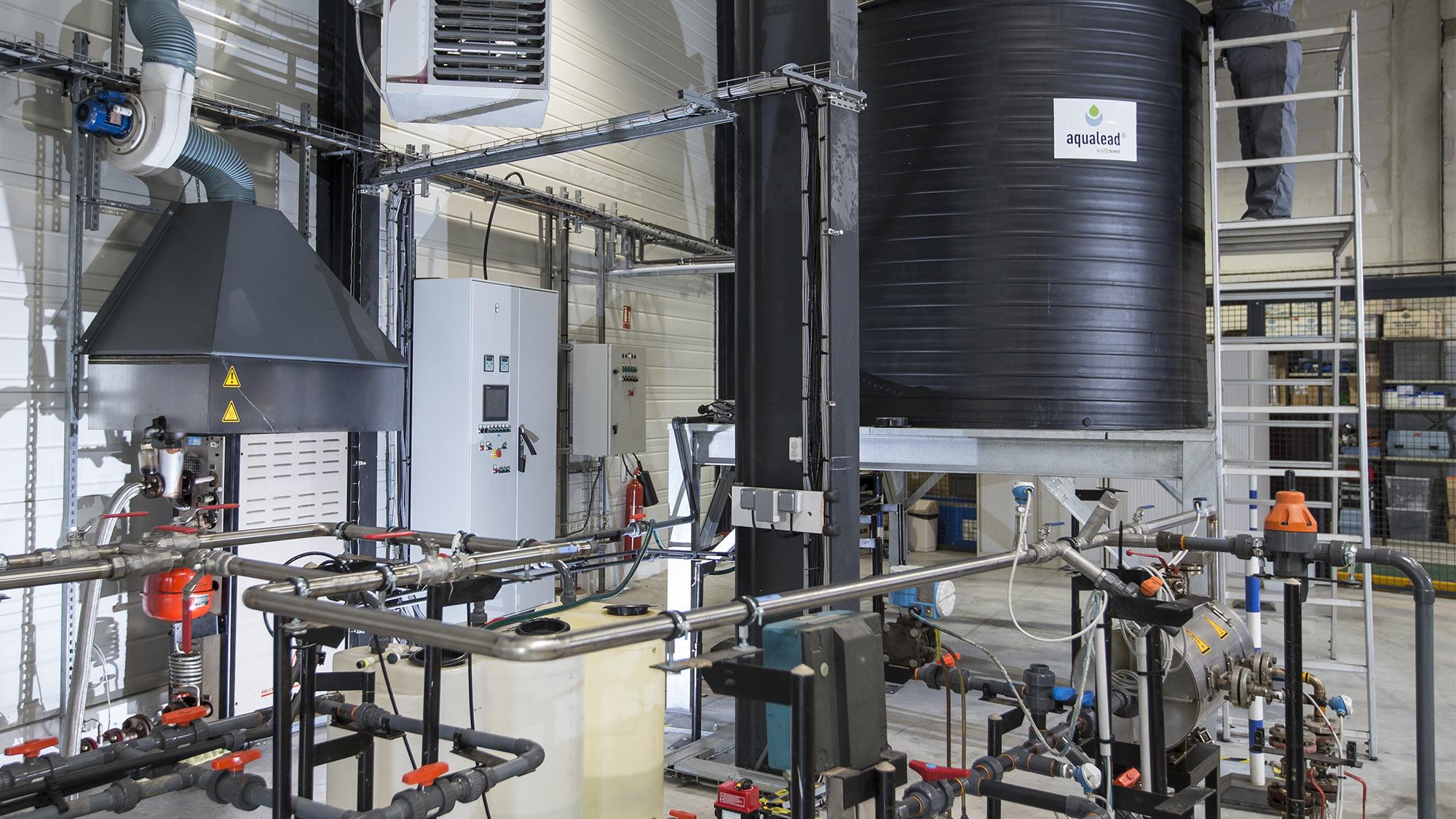 Services et produits de conditionnement pour le traitement de l'eau