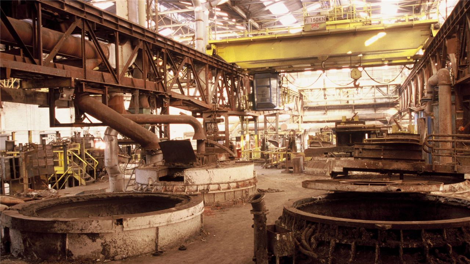 Redevelopment of industrial sites