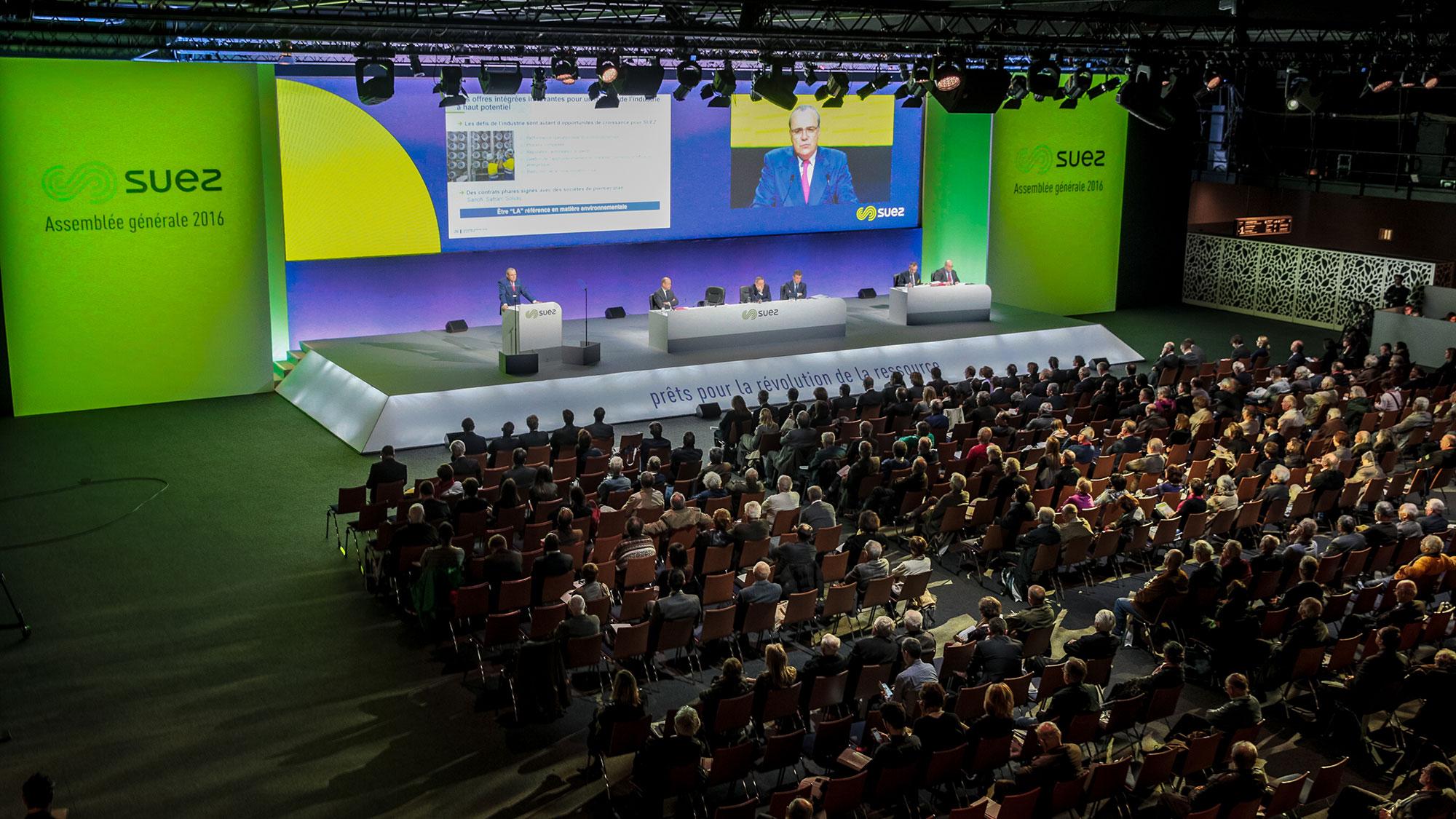 Assemblée générale 2016 de SUEZ