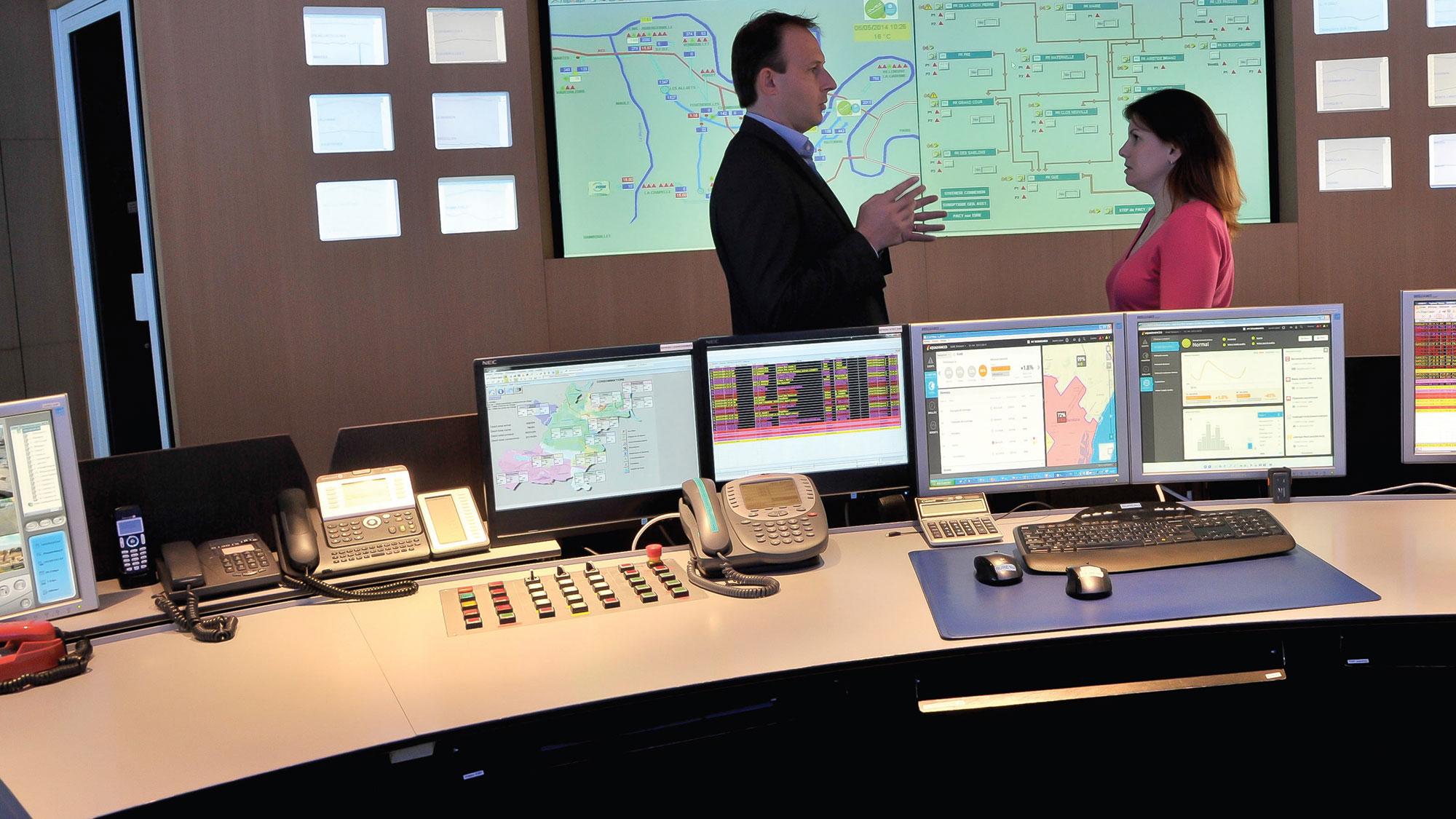 Smart control centers