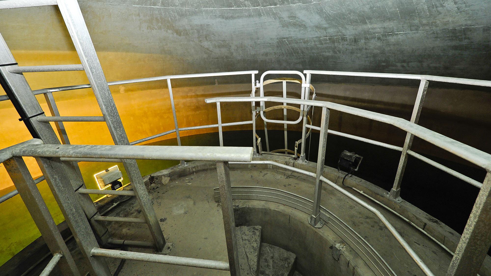 Chateau d'eau pour la distribution d'eau potable