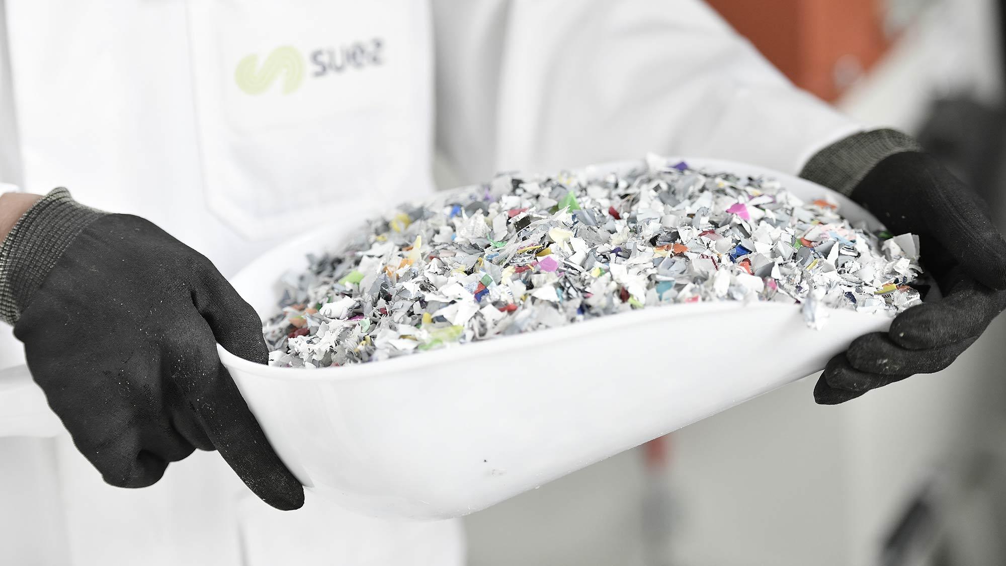 Recycled plastics - SUEZ
