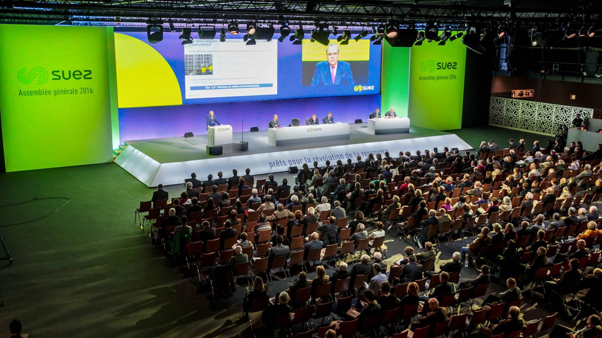Assemblée Générale de Suez 2016