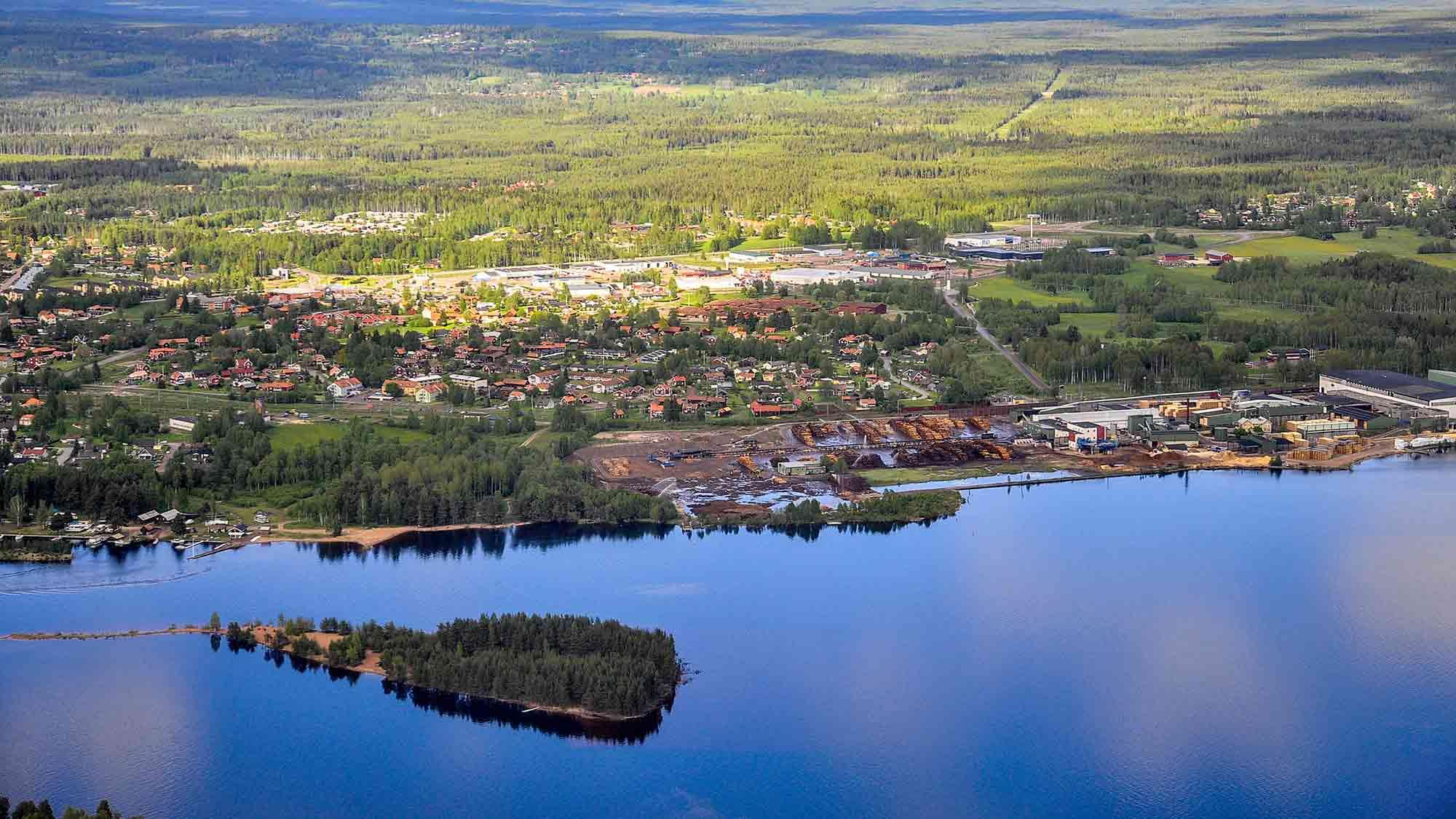 Sweden Mora landscape