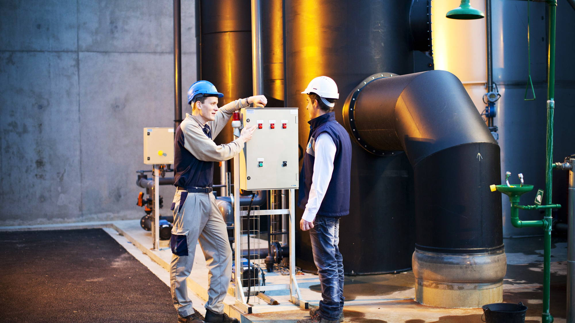 Optimise the management of water and wastewater treatment networks