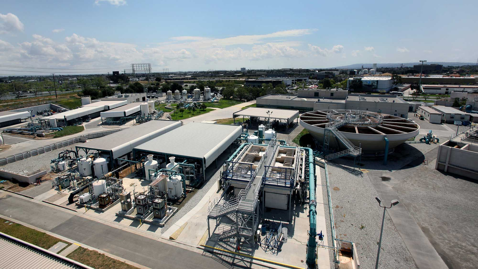 West Basin wastewater recycling plant SUEZ web