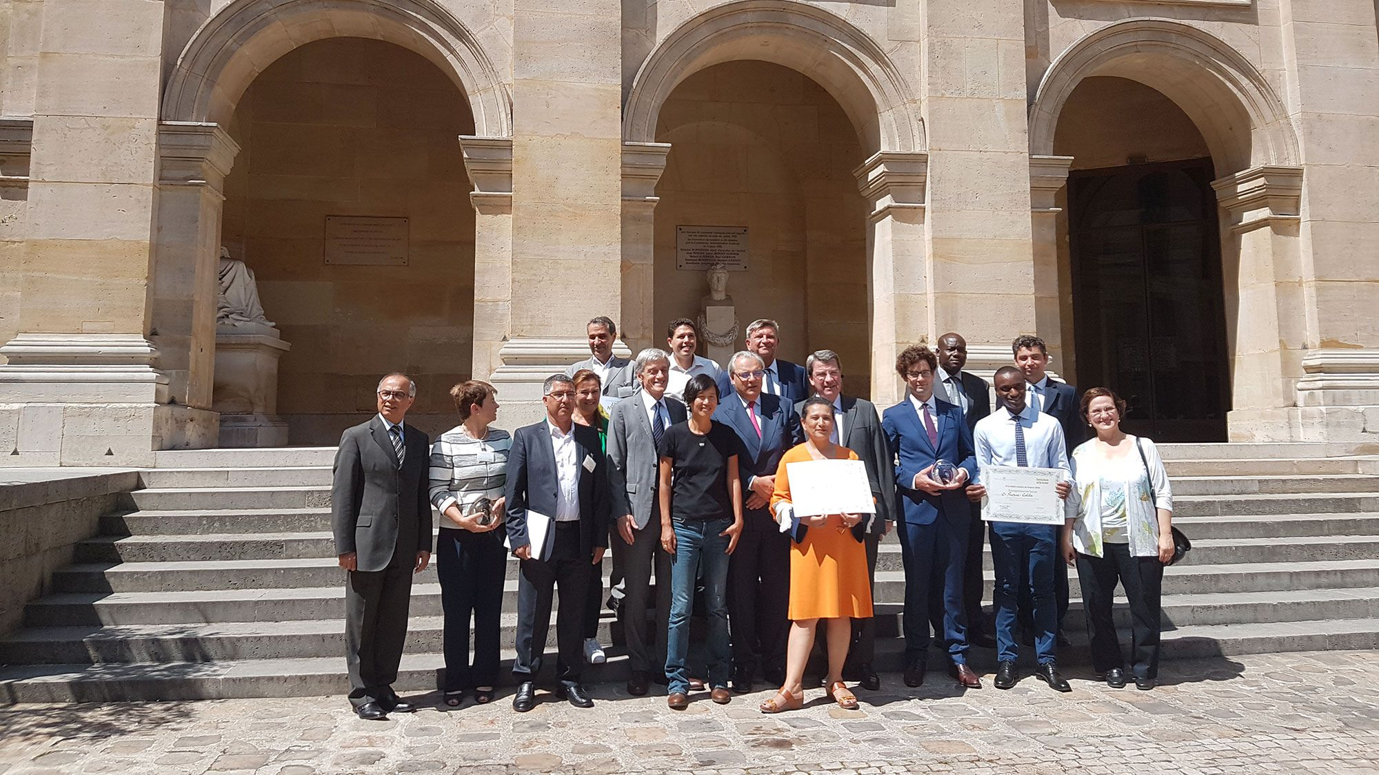 2018 SUEZ Institut de France awards