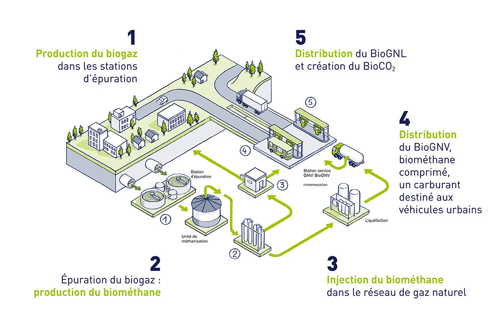 Biogas : what's working for the transition of our
