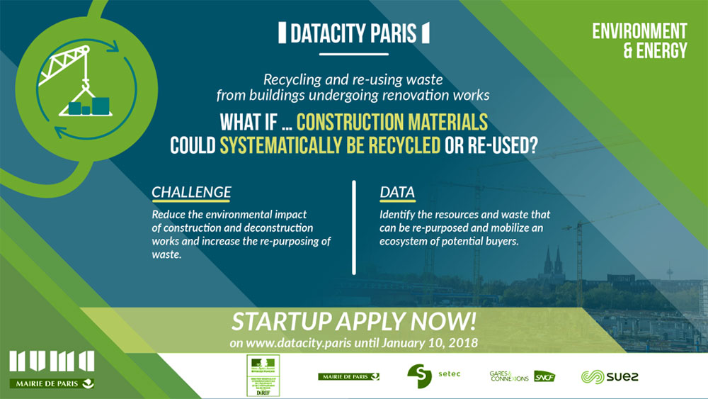 Datacity Paris - Construction materials banner
