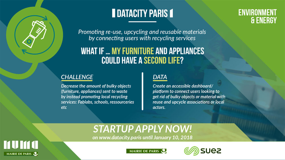 Datacity Paris - Recycling services banner