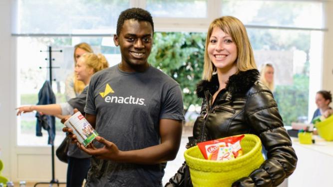 partenariat SUEZ avec Enactus