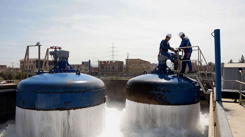 SUEZ-SEAAL-Station de traitement d'eau potable de Boudouaou à Alger