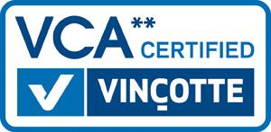 Logo VCA 2 Certified Vincotte
