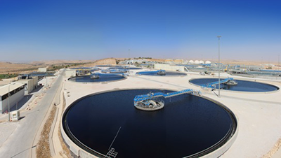 Water treatment plant As Samra Jordanie World Water Forum