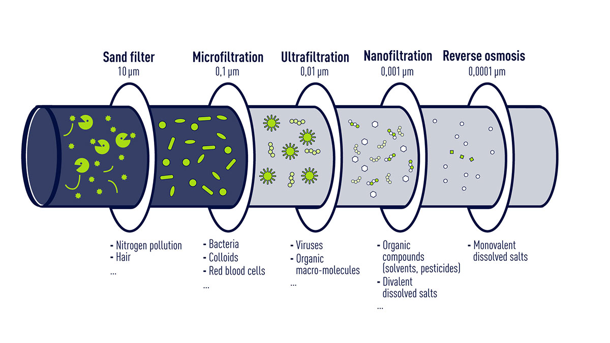 a variety of membrane filtration biology essay Free essay: biology essay – relationships and interactions there are many different types of relationships and interactions between organisms every organism.